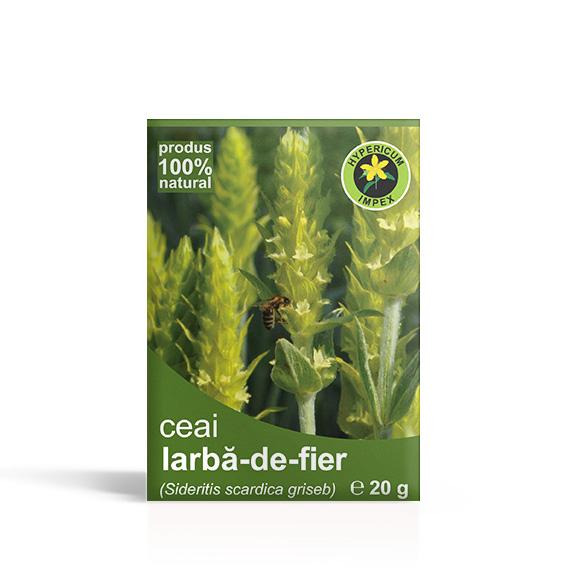 Ceai Iarba-de-fier (vrac) - Ceaiuri din plante Medicinale - Produs Hypericum Impex